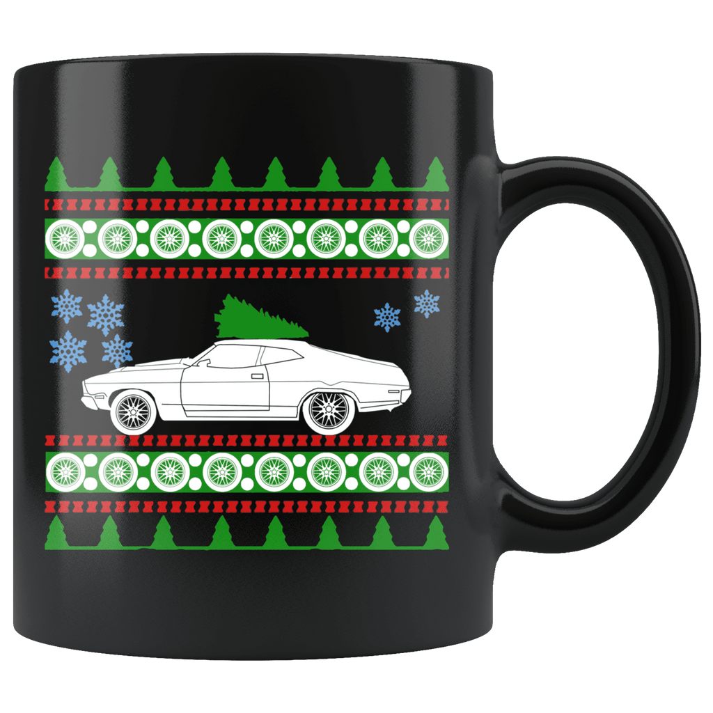 1976 Ford Fairmont XC Ugly Christmas Sweater Mug
