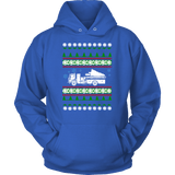 Fire Truck Ugly Christmas Sweater, hoodie and long sleeve t-shirt emt paramedic sweatshirt