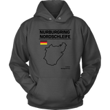 Nurburgring Nordschleife Version 2 Track Outline Series Shirt and Hoodie