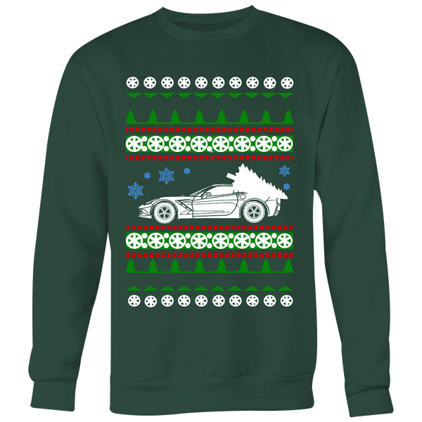 Ugly Car Christmas Sweaters and T-Shirts Online - ToolAndDyeDesigns
