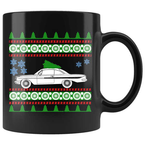 1961 Chevy Impala Christmas Sweater Mug
