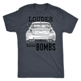 Louder Than Bombs Subaru STI T-shirt
