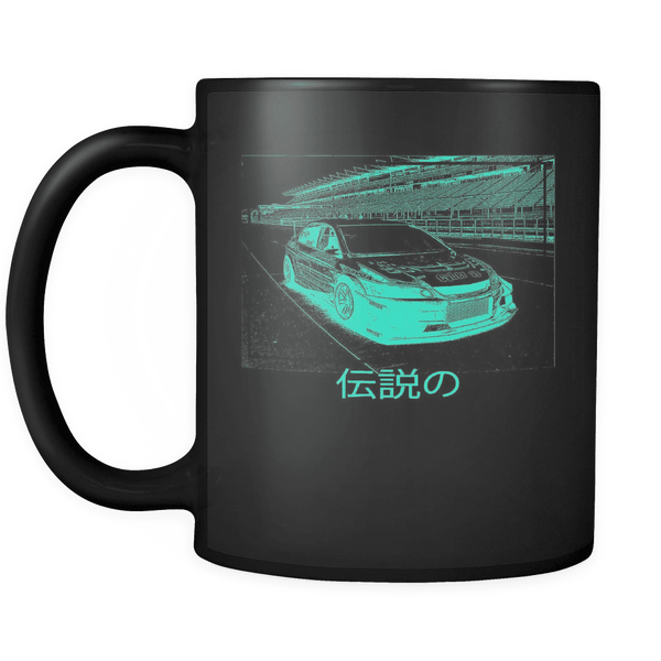 CyberEvo Time Attack Green Glow mug