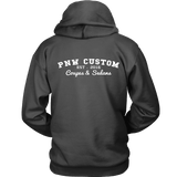 PNW Custom Coupes and Sedans Boost Hoodie gray and purple