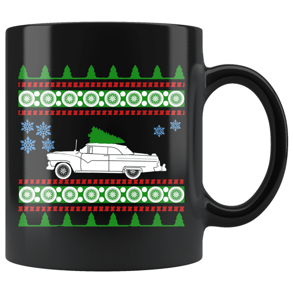 1955 Ford Sunliner Ugly Christmas Sweater Mug