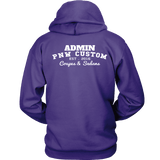 PNW Coupes and Sedans Admin Boost Hoodie Purple and Gray