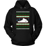 Electric Car Tesla Model S Ugly Christmas Sweater Hoodie and long sleeve t-shirt