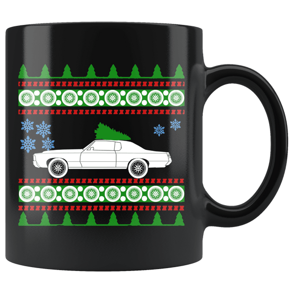1972 Pontiac Grand Prix Christmas Sweater Mug