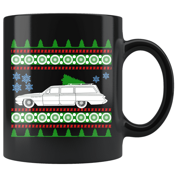 1962 Buick Invicta Christmas Sweater Mug