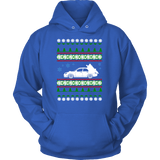 Subaru WRX STI Hawkeye Ugly Christmas Sweater, hoodie and long sleeve t-shirt