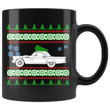 1956 Ford Thunderbird Ugly Christmas Sweater Mug