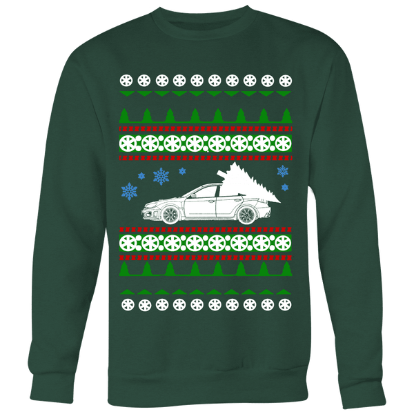 Subaru WRX STI Hatchback Ugly Christmas Sweater, hoodie and long sleeve t-shirt