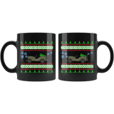 Jeep Willys SK Ugly Christmas Sweater Mug