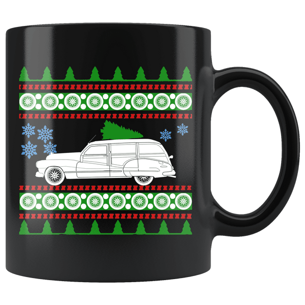 1947 Buick Woody Wagon Christmas Sweater Mug
