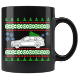 BMW X1 Ugly Christmas Sweater Mug
