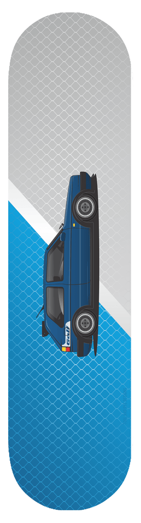 Car Art  MK2 Golf GTI Skateboard Deck 16v vr6 VW