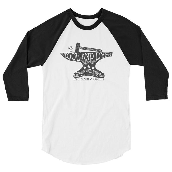 Pedal to the Metal 3/4 sleeve raglan shirt 50/50