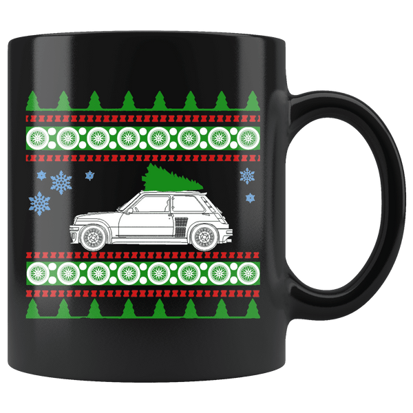 Renault Turbo Ugly Christmas Sweater Mug