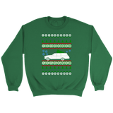 Bel Air Chevy Wagon 1962 Ugly Christmas Sweater