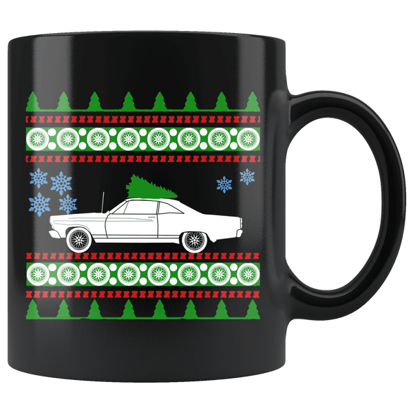 1967 Ford Fairlane Ugly Christmas Sweater Mug