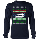 Lancer Evo 10 white tree Ugly Christmas Sweater, Hoodie and long sleeve T-shirt