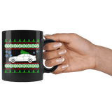2018 Cadilac ATS V Ugly Christmas Sweater Mug