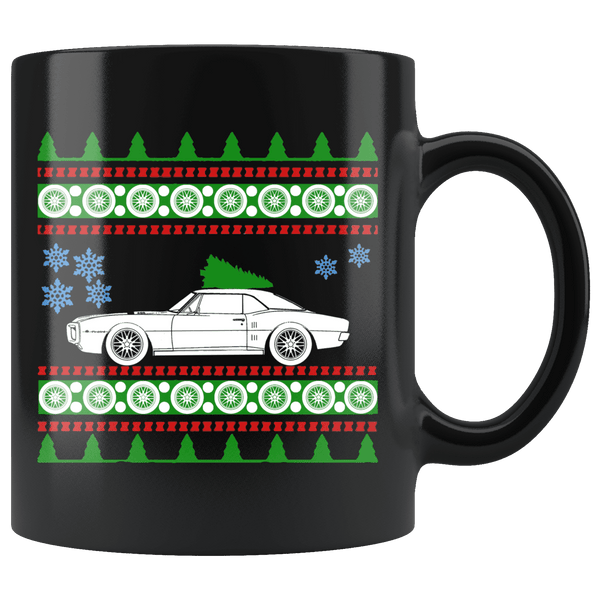1967 Pontiac Firebird Christmas Sweater Mug