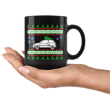 1990 Ford Festiva Christmas Sweater Mug