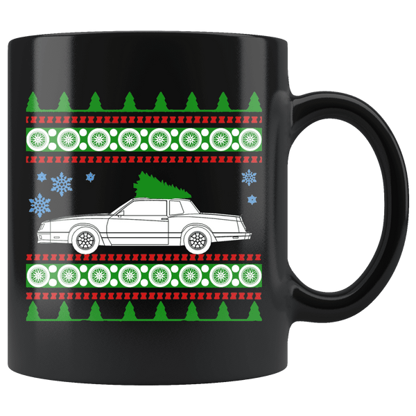 Chevy Monte Carlo SS Ugly Christmas Sweater Mug