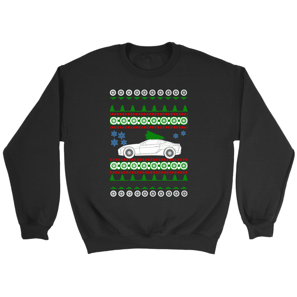 Lexus LC500 Ugly Christmas Sweater, Hoodie and Long Sleeve T-shirt