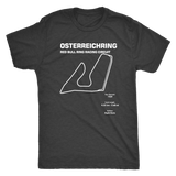 Osterreichring Race Track Outline Series T-shirt
