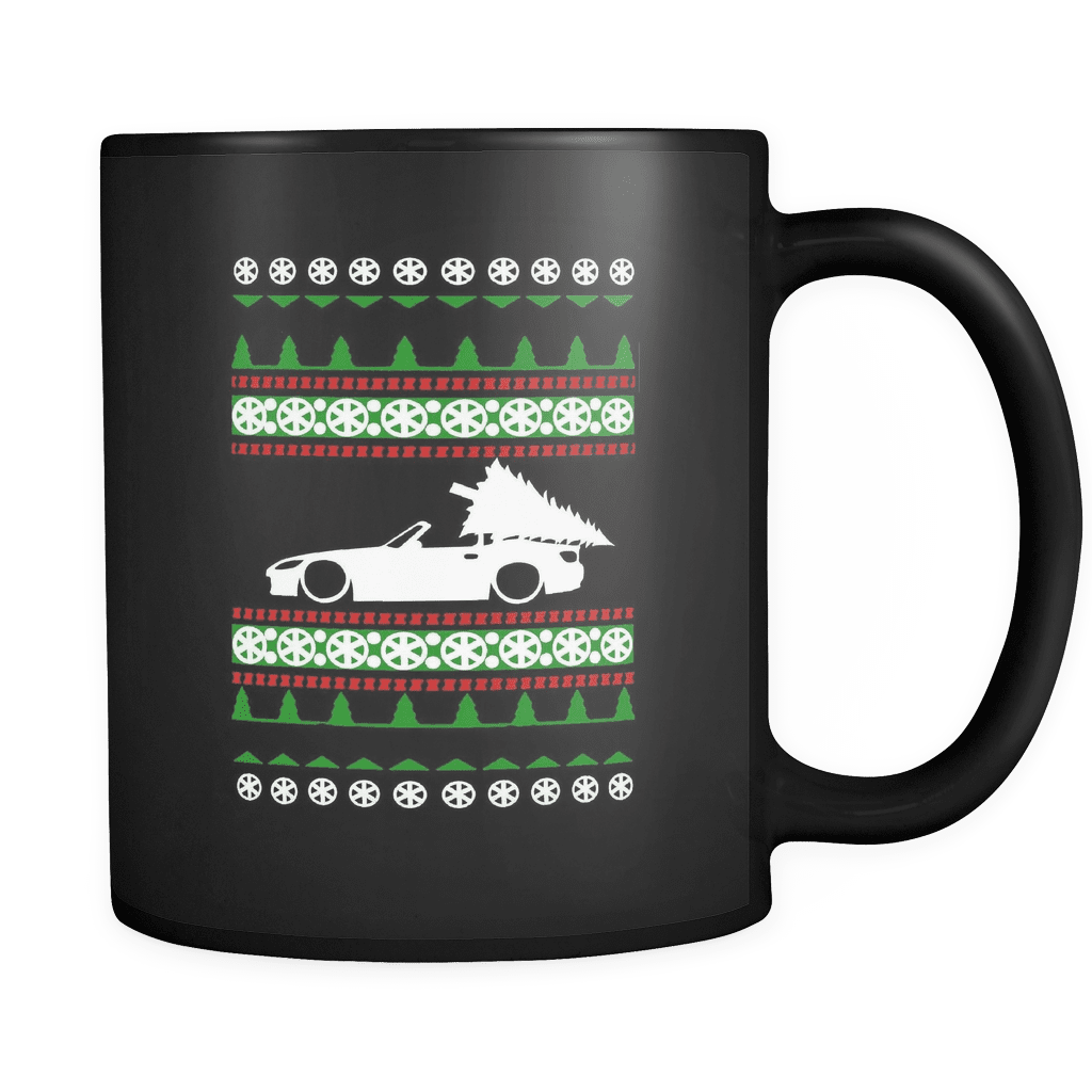 S2000 ugly christmas sweater mug, s2k, honda