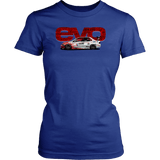 Mitsubishi Lancer Evolution Word T-shirt Mens and Womens
