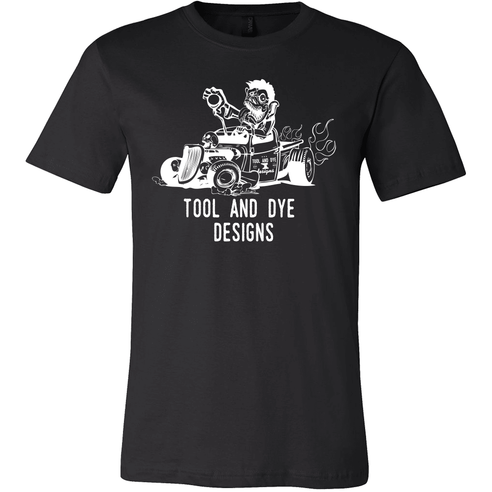 Outlaw mens t-shirt (black or navy)- Tool and Dye Designs