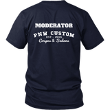 PNW Custom Coupes and Sedans Boost Moderator shirts