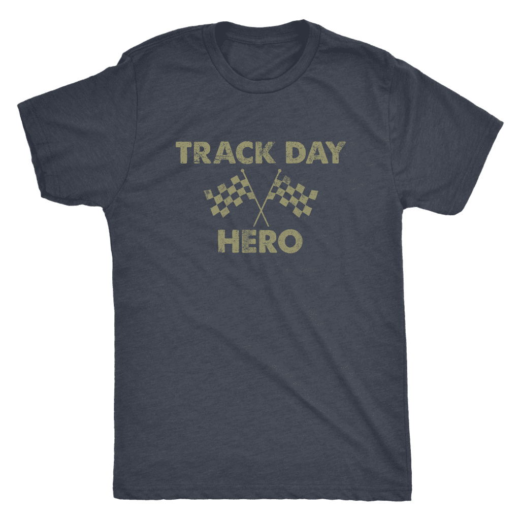 Track Day Hero Mens Tri-blend