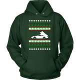 Nissan Silvia 240SX Ugly Christmas Sweater Hoodie, crewneck and long sleeve T