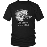 Nissan RB20 Skyline Engine Old School Mens (unisex) T-shirt