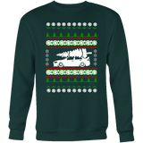 Lancer Evo 10 X Ugly Christmas Sweater crew and hoodie mens (unisex)