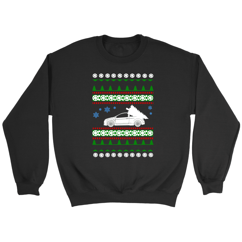 Ford Focus RS Ugly Christmas Sweater, hoodie and long sleeve t-shirt sweatshirt