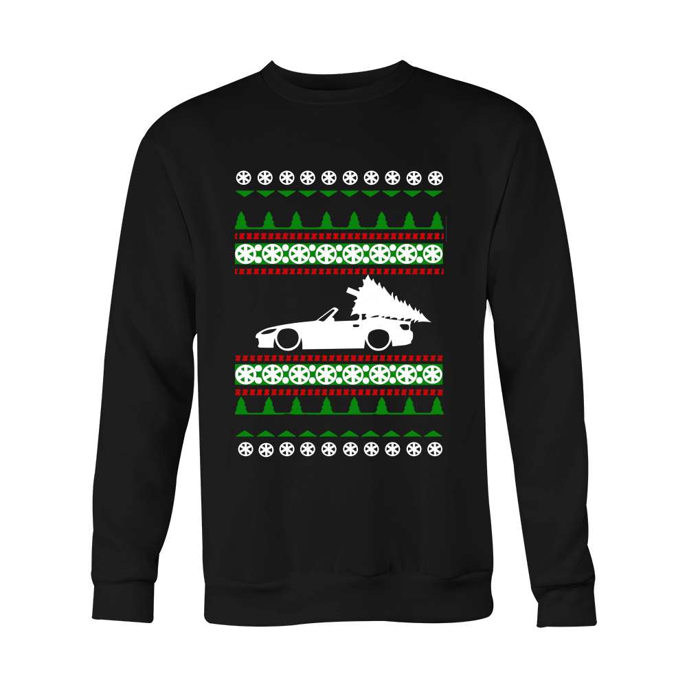 Honda S2000 Ugly Christmas Sweater version 1 slammed