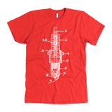 T&D Illustration Series- Sparkplug Premium (American Apparel)Multiple Colors