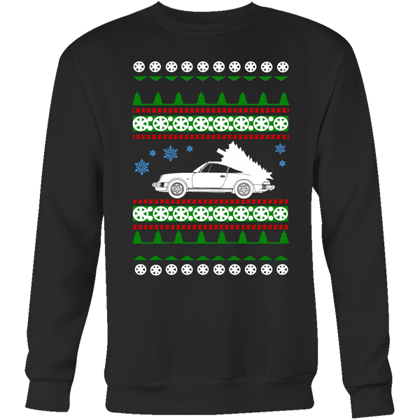 Porsche 911 Ugly Christmas Holiday Sweater and t-shirt