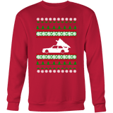 "BMW E30 M3 Christmas Sweater ""Ugly Christmas Sweater"" Crewneck Sweatshirt"