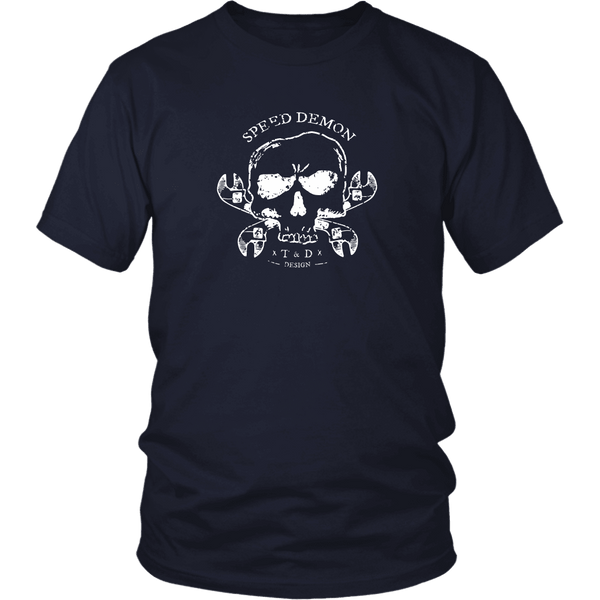 Tool and Dye Designs Speed Demon Mens (unisex) multiple colors