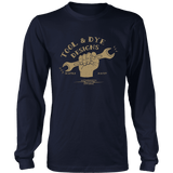 Tool and Dye Wrench Hand Long Sleeve T-shirt unisex