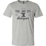 Tool and Dye Classic Anvil Logo (heather gray)- Tool and Dye Designs