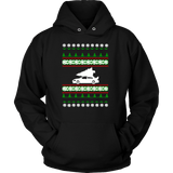 Mitsubishi Lancer Evolution Evo 8 9 Ugly Christmas Sweater Hoodie and T-shirt