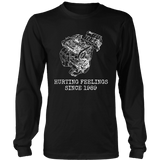 DSM 4G63 Hurting Feelings Since 1989 T-shirt Long Sleeve Mens (unisex)