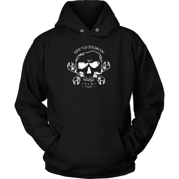 Tool and Dye Designs Speed Demon Hoodie mens (unisex)